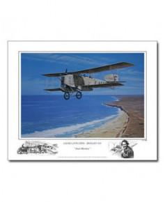 Poster Breguet XIV Aéropostale - Jean Mermoz