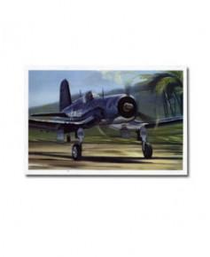Carte postale Benjamin FREUDENTHAL - Décollage d'un Corsair F4U-1D