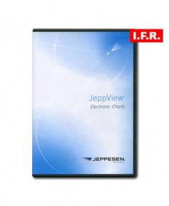 Logiciel et abonnement annuel Jeppview I.F.R. pour le Nord du continent Sud-Américain (NSA)