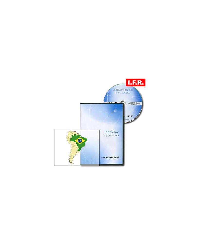 Logiciel et abonnement annuel Jeppview I.F.R. pour le Brésil (BRZ)