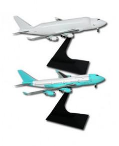 Lot de 2 maquettes métal B747-400 LCF et B747-400 - 1/400e