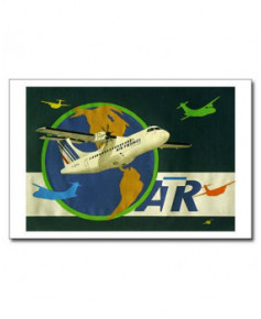 Carte postale Jean-Pierre CONDAT - ATR autour du monde