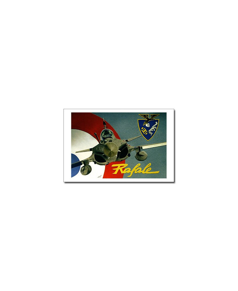 Carte postale Jean-Pierre CONDAT - Rafale