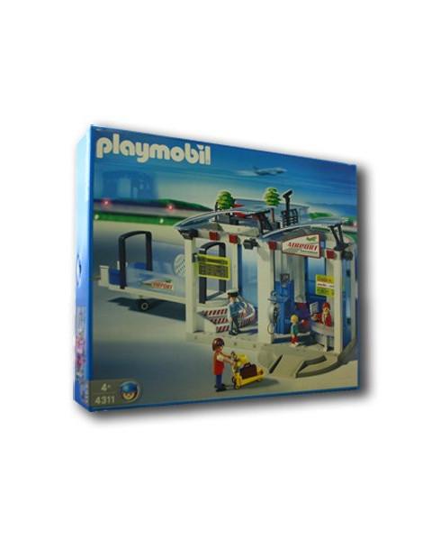 L'aéroport et la passerelle d'embarquement Playmobil®