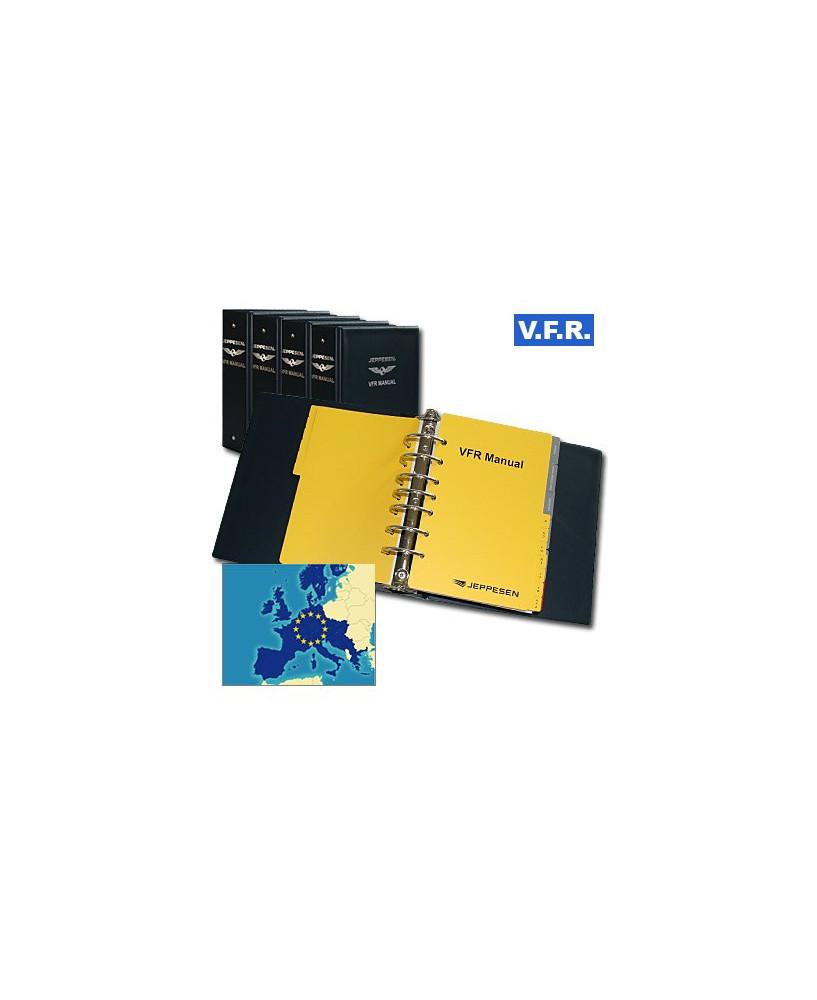 Trip kit V.F.R. Manual Europe de l'Ouest (Edition Alpha avec classeurs en plastique supérieur)