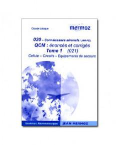 Mermoz - 020 - Recueil Q.C.M. Cellules et systèmes tome 1