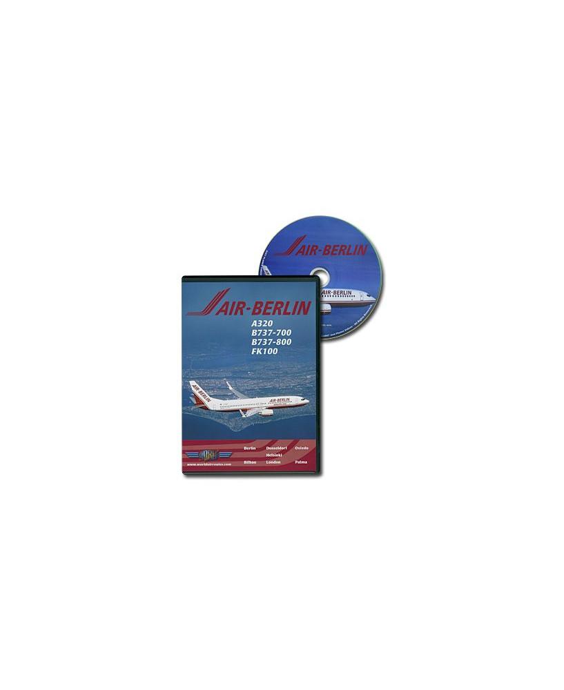 D.V.D. World Air Routes - Air Berlin A320 B737 Fk100