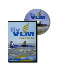 D.V.D. World Air Routes - VLM Fokker 50
