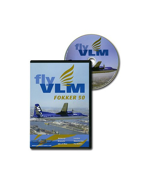 D.V.D. World Air Routes - VLM Fokker 50