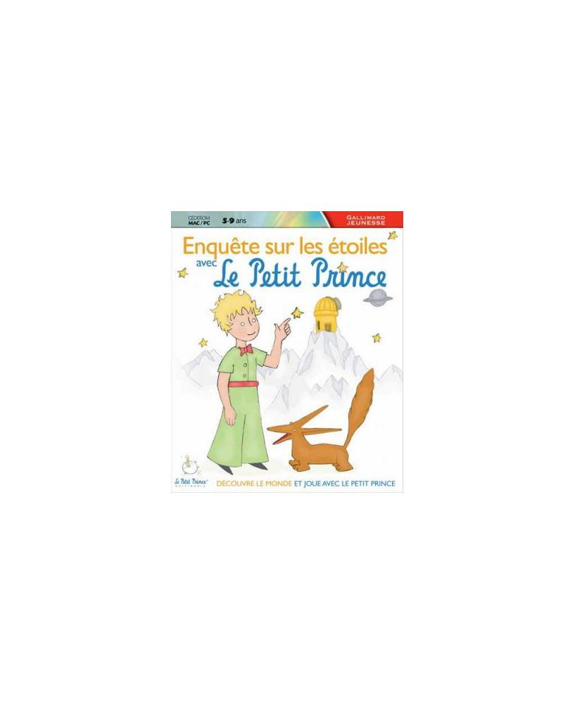 C.D.-ROM Enquête sur les étoiles avec Le Petit Prince