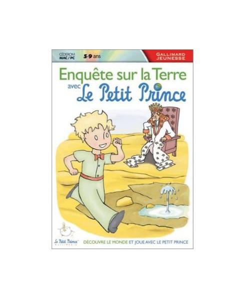 C.D.-ROM Enquête sur la terre avec Le Petit Prince