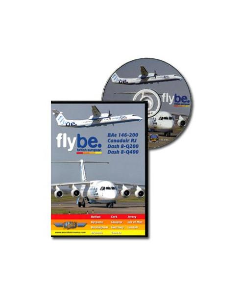 D.V.D. World Air Routes - Flybe Bae146 CRJ Dash8