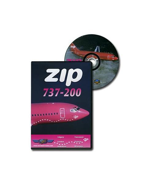 D.V.D. World Air Routes - Zip B737-200