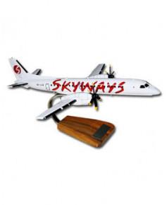 Maquette bois Saab 2000 Skyways