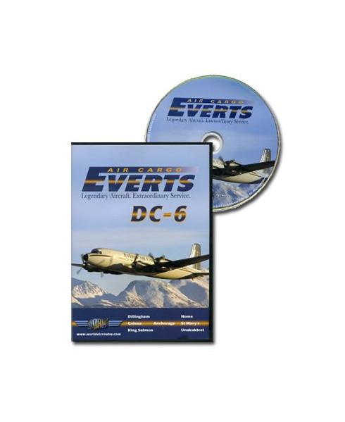 D.V.D. World Air Routes - Everts Air DC6