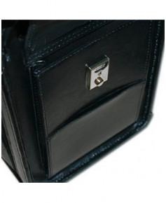 Pilot-case cuir Pooleys