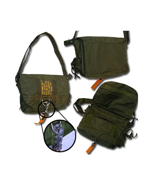Sac reporter type militaire 3