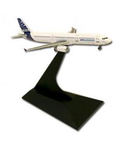 Maquette métal A321 anciennes couleurs Airbus 2005 - 1/400e