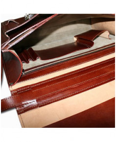 Cartable cuir Attachee Bag Jeppesen