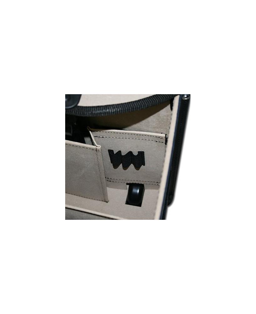Pilot-case cuir à roulettes Jeppesen