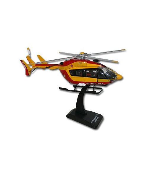 Hélicoptère jouet EC145 Sécurité civile - 1/43e
