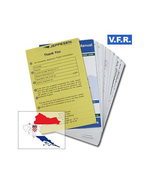 Trip kit V.F.R. Manual Croatie