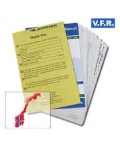 Trip kit V.F.R. Manual Norvège