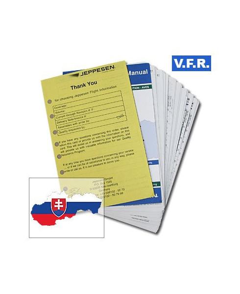 Trip kit V.F.R. Manual Slovaquie