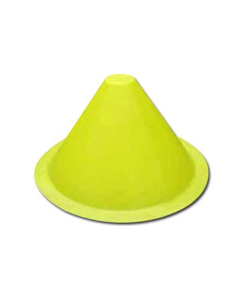Balise de voie de circulation jaune ronde / conique