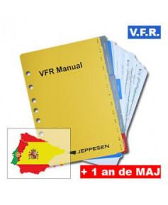 Atlas V.F.R. Manual Espagne et Portugal sans classeur et avec un an de mises à jour - Edition Papa