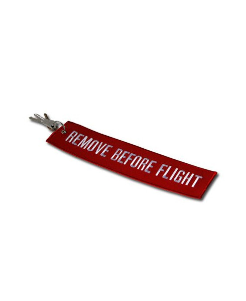 MAXI porte-clés Remove before flight