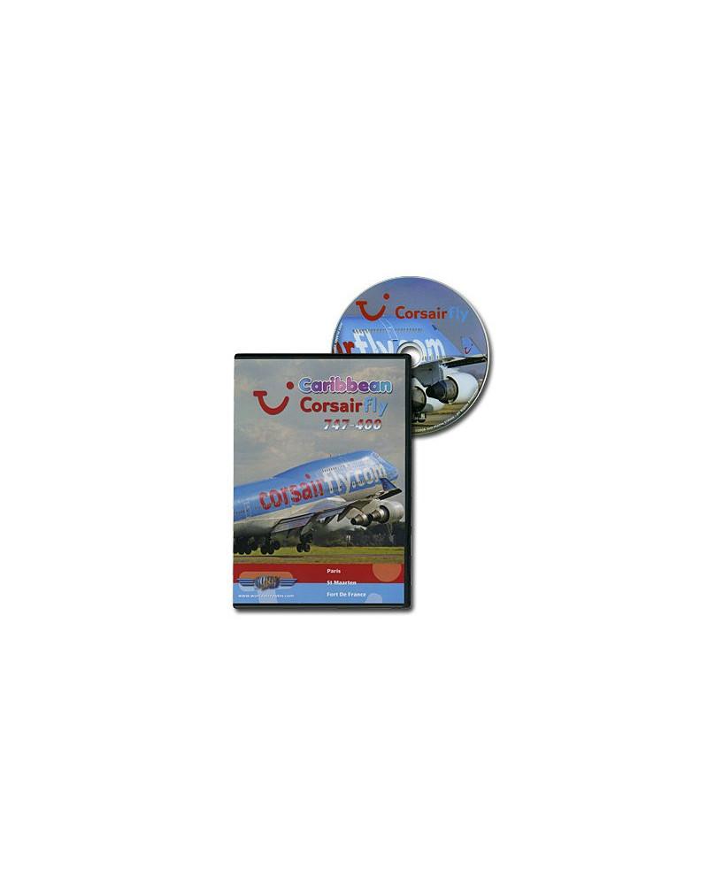 D.V.D. World Air Routes - Corsairfly B747-400