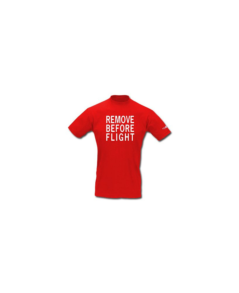Tee-shirt Remove Before Flight / Aviation Passion - Taille L