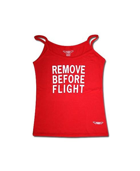 Débardeur à bretelles Remove Before Flight / Aviation Passion - Taille L