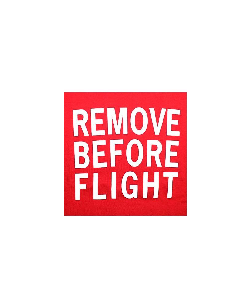 Débardeur à bretelles Remove Before Flight / Aviation Passion - Taille S
