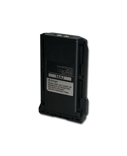 Batterie BP-232 compatible pour radios ICOM IC-A15 et IC-A15S