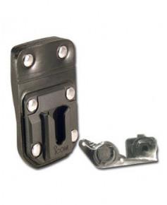 Passant de ceinture en cuir avec pivot (MB-96N) pour radios ICOM IC-A15 et IC-A15S