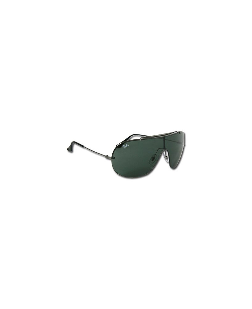 Lunettes Ray-Ban Wings - Monture gris métal (taille large)