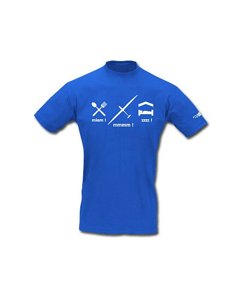 Tee-shirt Manger, planer, dormir ! / Aviation Passion - Taille S