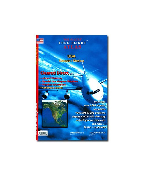 The pilots free flight Atlas - North America