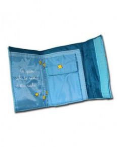 Portefeuille Petit Prince (bleu clair)