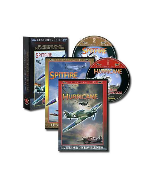 Coffret D.V.D. Spitfire et Hurricane