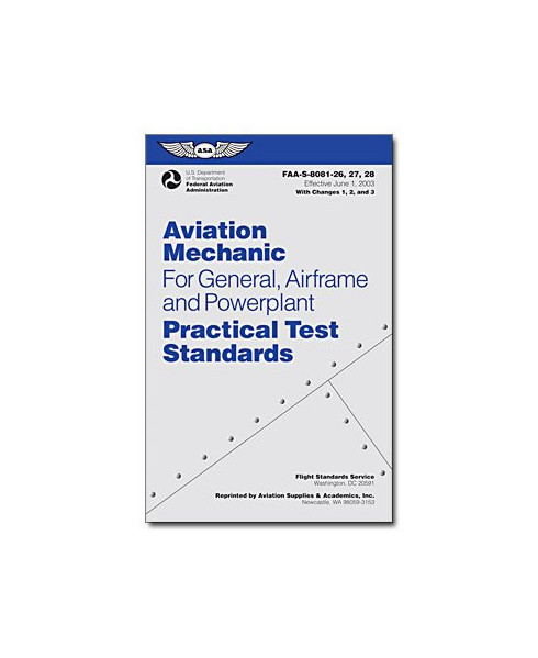 Practical Test Standards - Aviation Mechanic (General, Airframe and Powerplant)