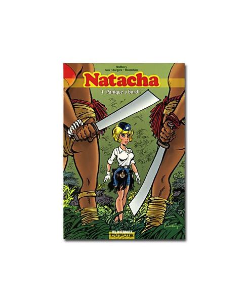 Natacha - L'intégrale - Tome 1 - Panique à bord