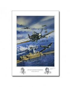 Poster City of Glasgow Squadron - Jacques et Pierre