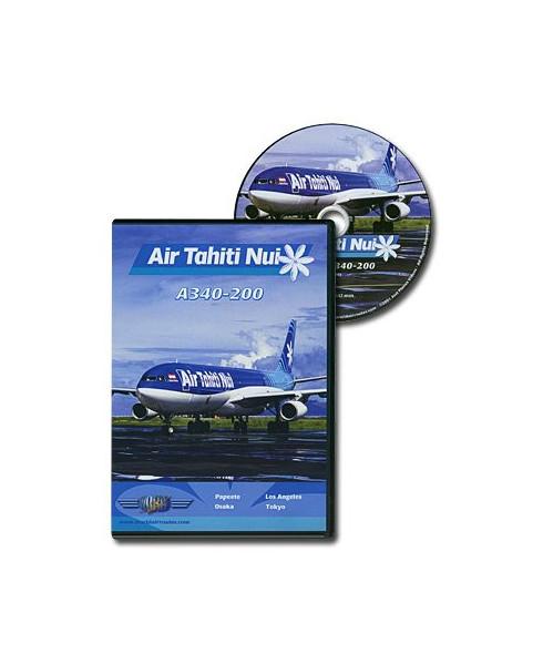 D.V.D. World Air Routes - Air Tahiti Nui A340-200