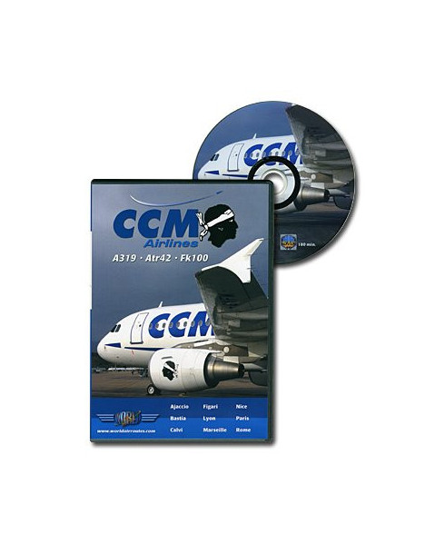 D.V.D. World Air Routes - CCM Airlines Fokker 100