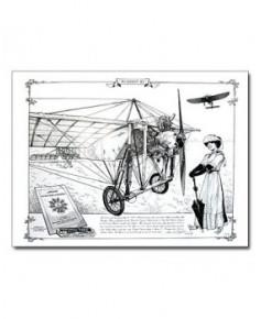 Illustration Blériot XI - Extérieur