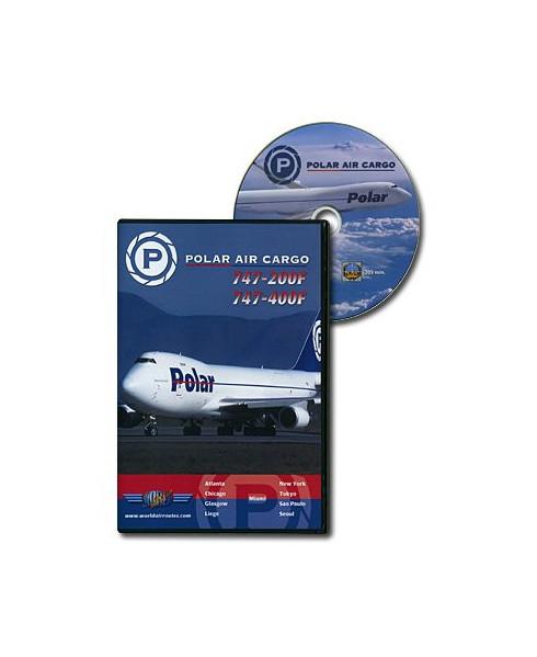 D.V.D. World Air Routes - Polar Air Cargo B747-400F