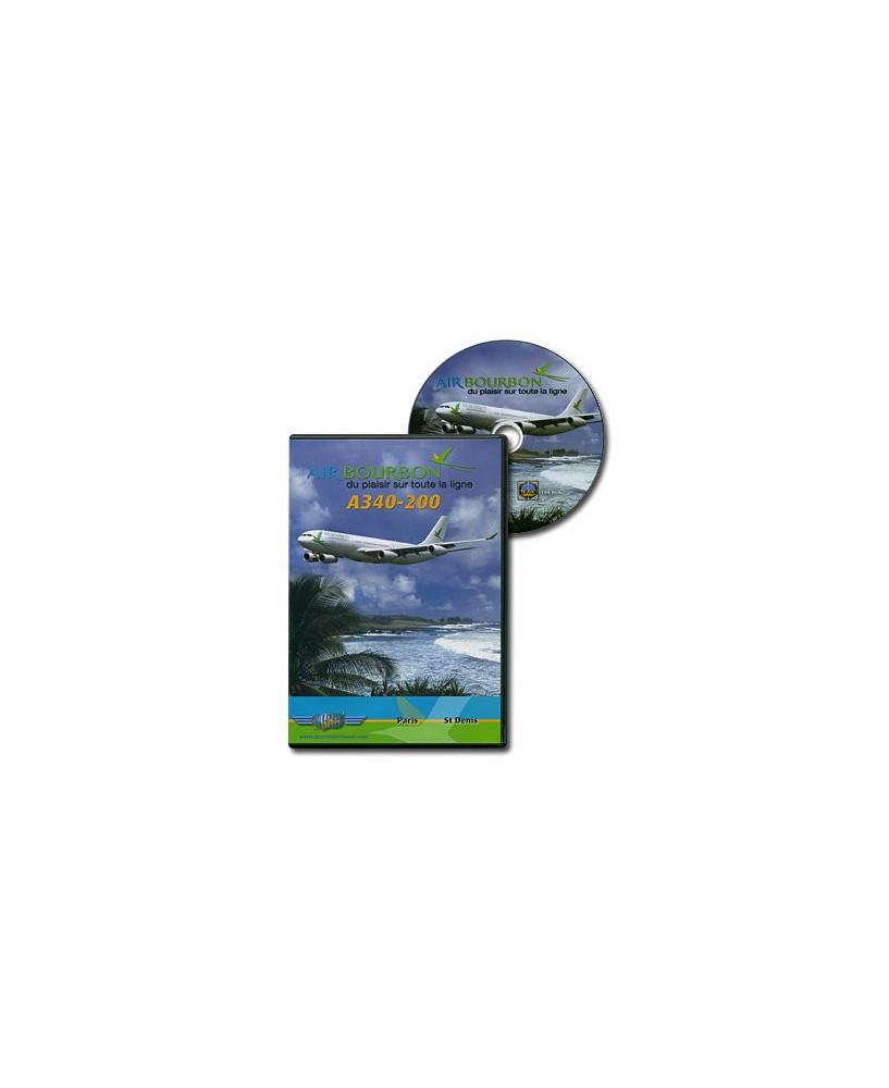 D.V.D. World Air Routes - Air Bourbon A340-200